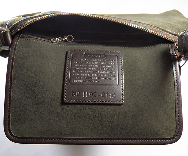 Please See Another View Exclusive Lush Dark Forest Green Suede Handbag